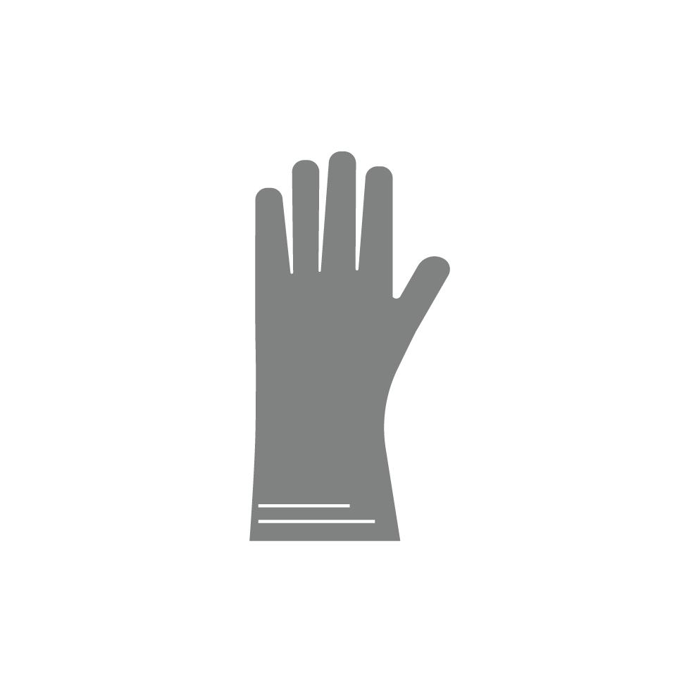 Προστατευτικά γάντια για αμμοβολή