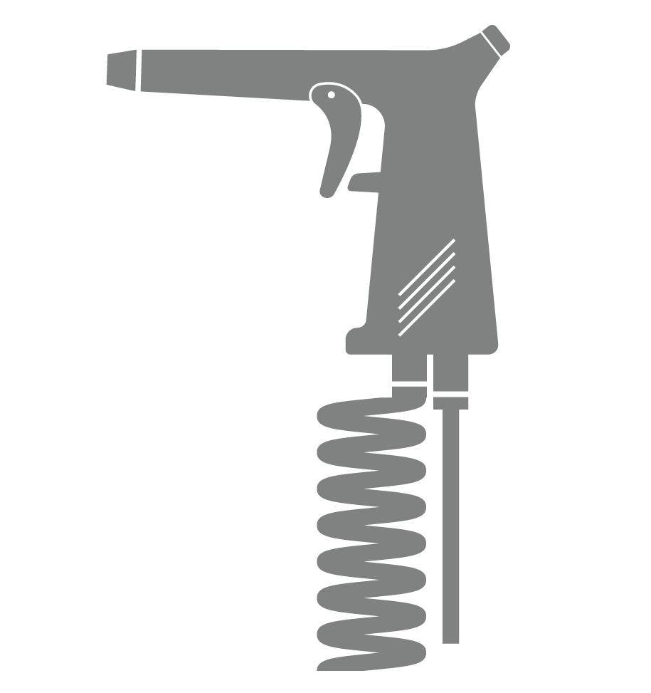 Εργαλείο που χρησιμοποιείται στην αμμοβολή